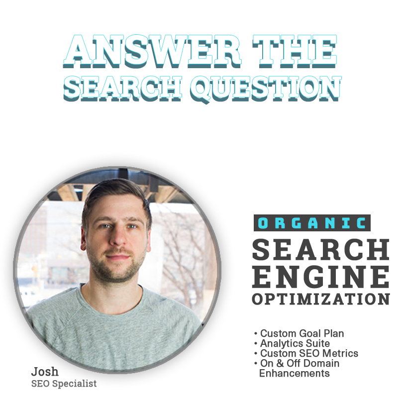 Expio Marketing SEO Search Engine Optimization Organic SEO Answer The Search Question