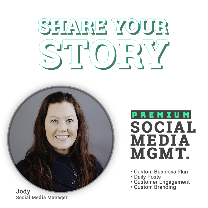Expio Marketing Share Your Story Social Media Management Premium
